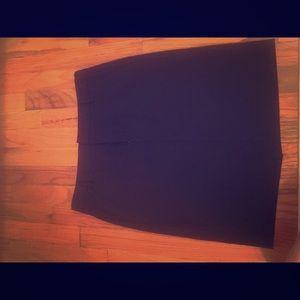 Women's GAP black dress skirt, size 6